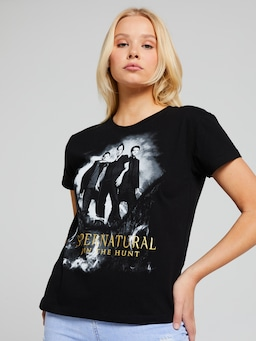 Supernatural Trio Foil Tee