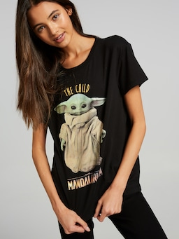 Star Wars Mandelorian Baby Yoda Cotton Tee