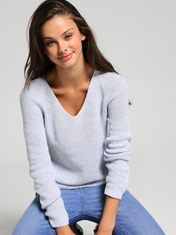 Abigail V Neck Knit