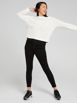 Fran Cable Chenille Jumper