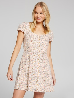 Taylor Prairie Sq Neck Dress