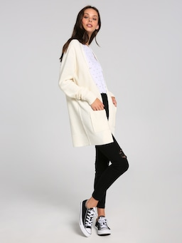 Eden Rib Pocket Cardigan