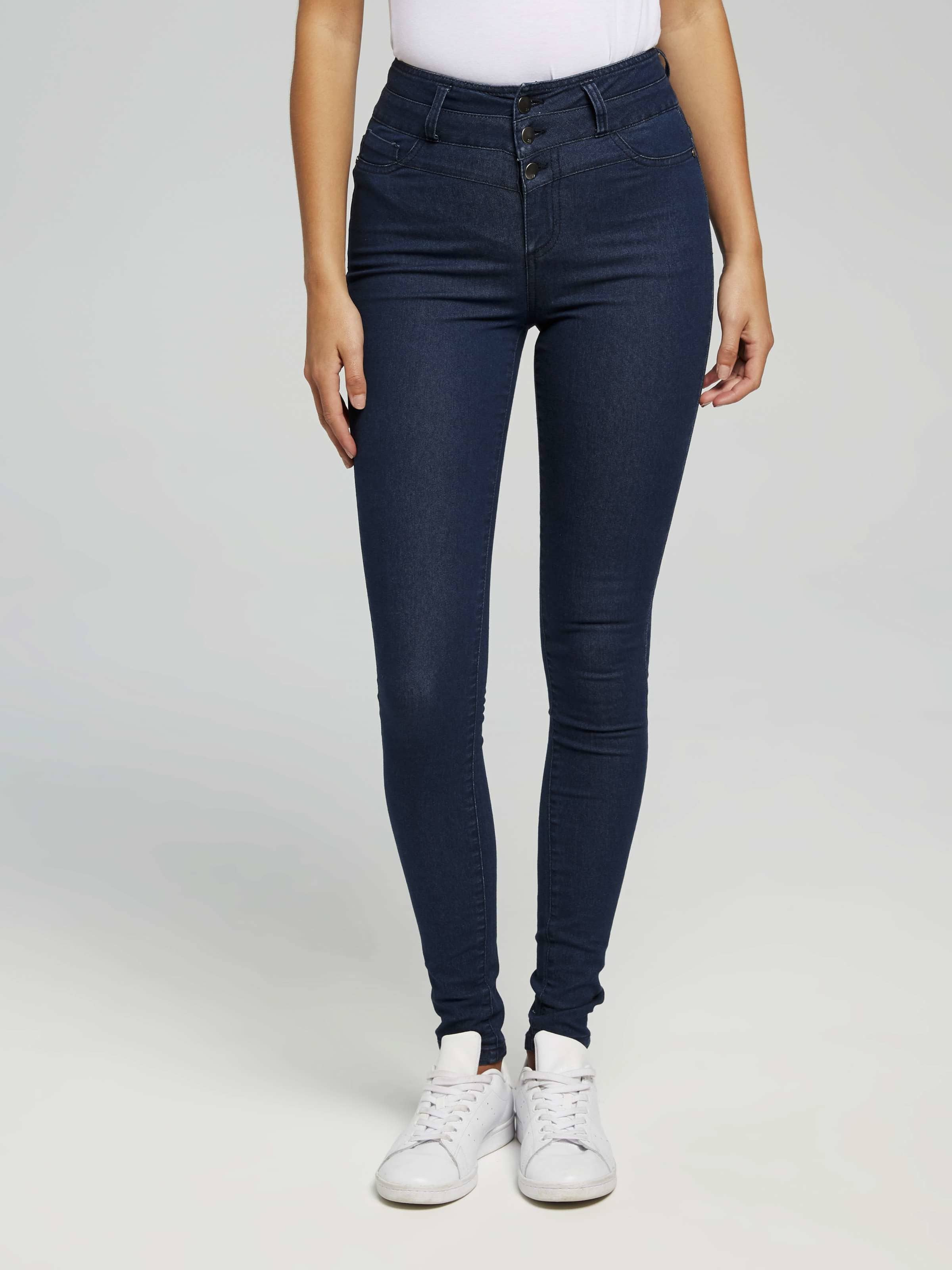 f5940a46d45d3 Image for 3 Button High Rise Jeans from Jay Jays ...