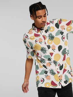 Fruit Print Shirt