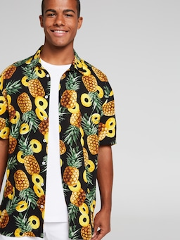Pineapple Resort Suit Shirt