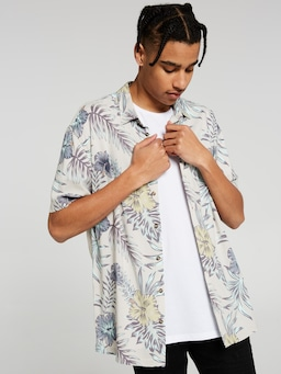 Tropic Hibiscus Resort Shirt
