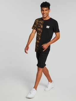 Camo Splice Half World Wide Tee