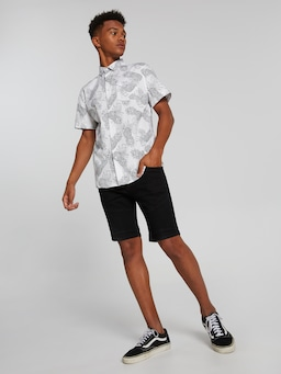 Fruit Pineapple Short Sleeve Shirt