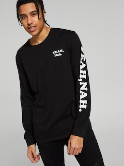 Surf Yeah Nah Long Sleeve Tee