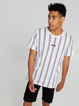 Stripe All Over Print Legacy Tee