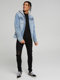 Denim Jacket Interchangeable