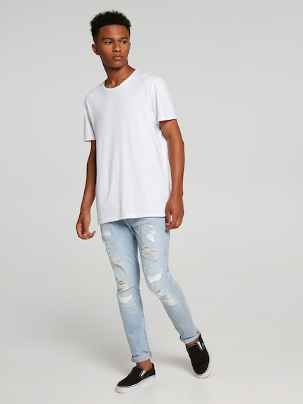 Charlie Ripped Superskinny Jean