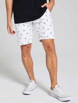 Chino Short Toucan Print