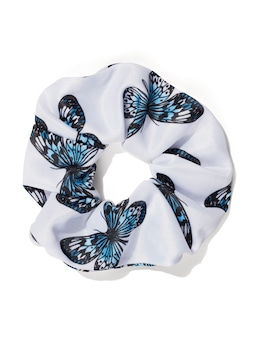 Printed Knit Scrunchie