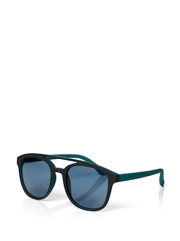 Blake Topbrow Round Sunglasses