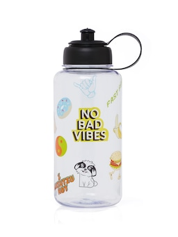 Large Plastic Stickers Bottle