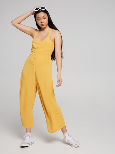 X Back Jumpsuit