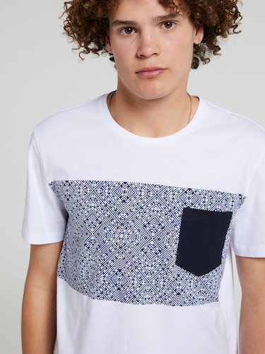Aztec Splice Pocket Tee