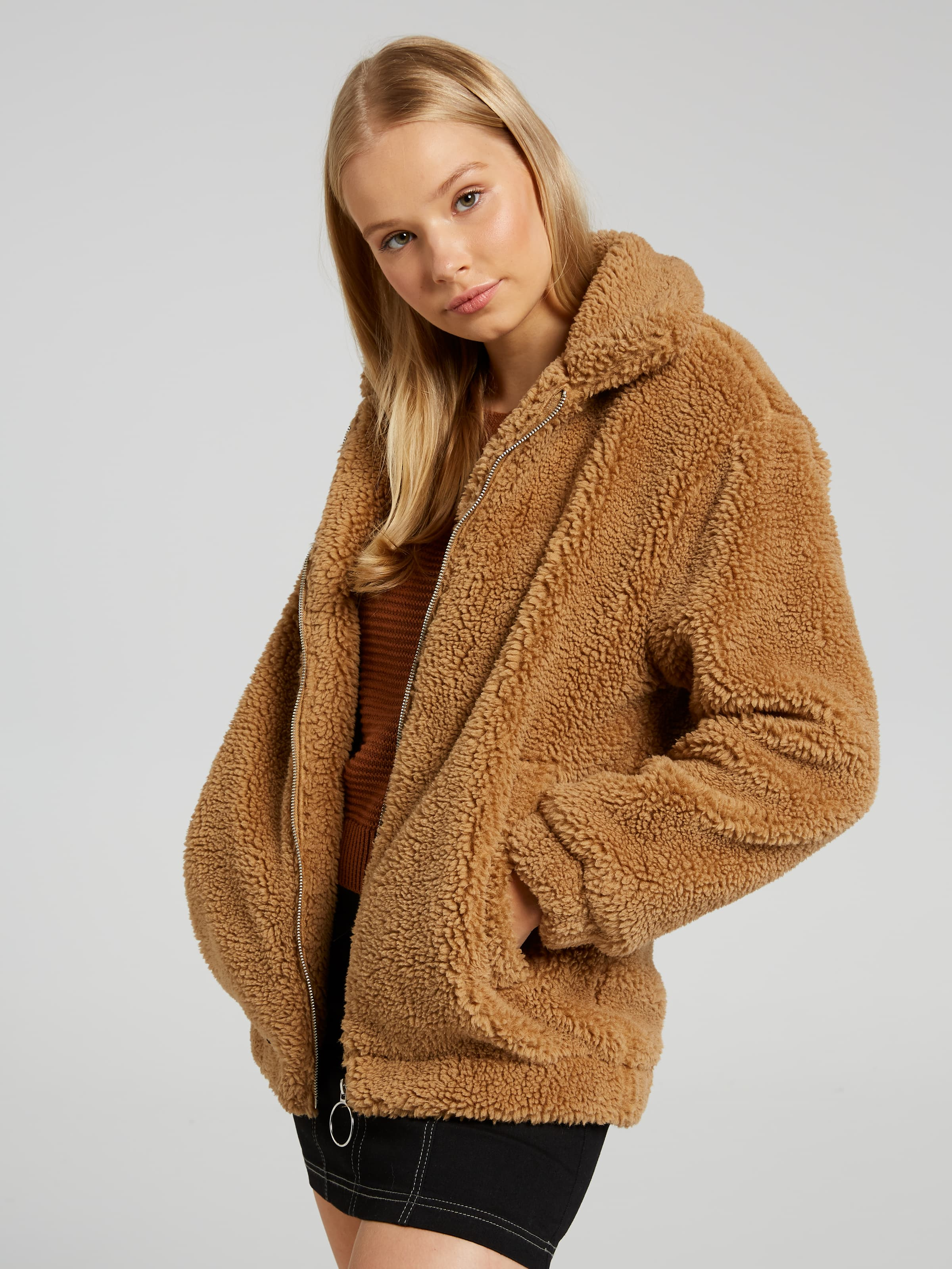 Teddy Long Jacket